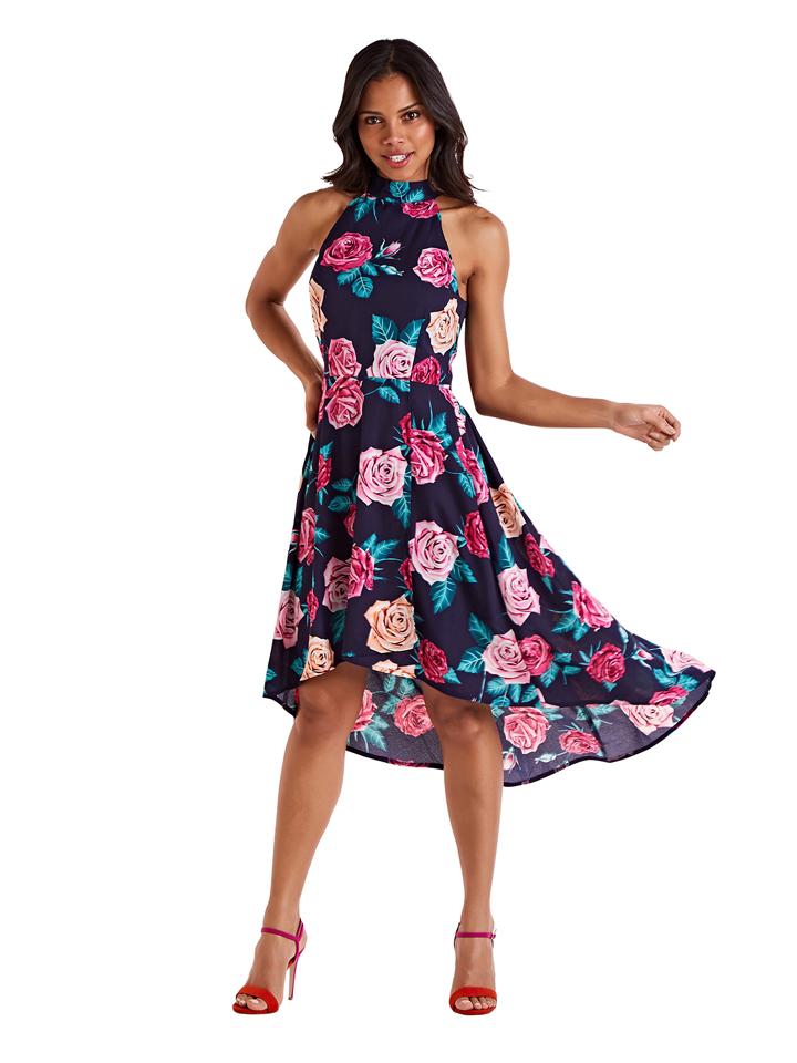 MELA LONDON Kleid in Dunkelblau günstig kaufen
