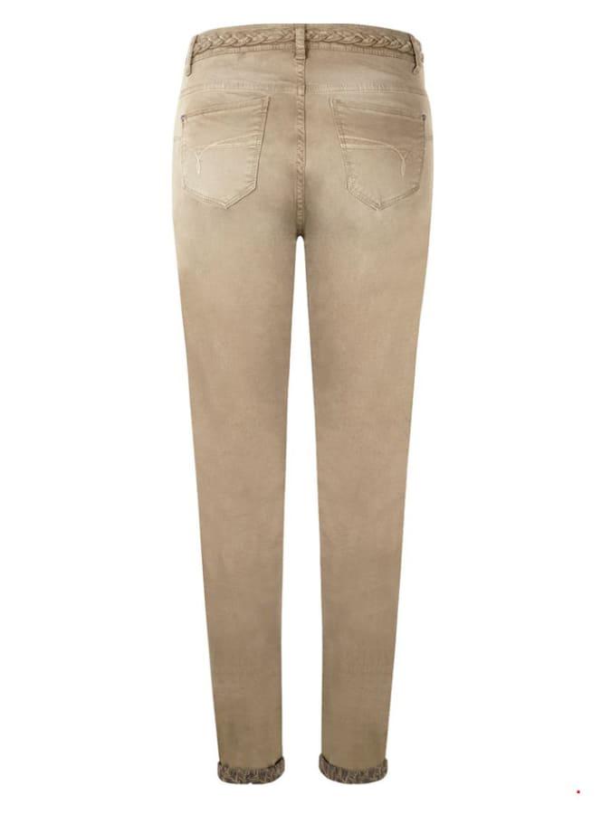 Tramontana Jeans - Skinny fit - in Beige günstig kaufen
