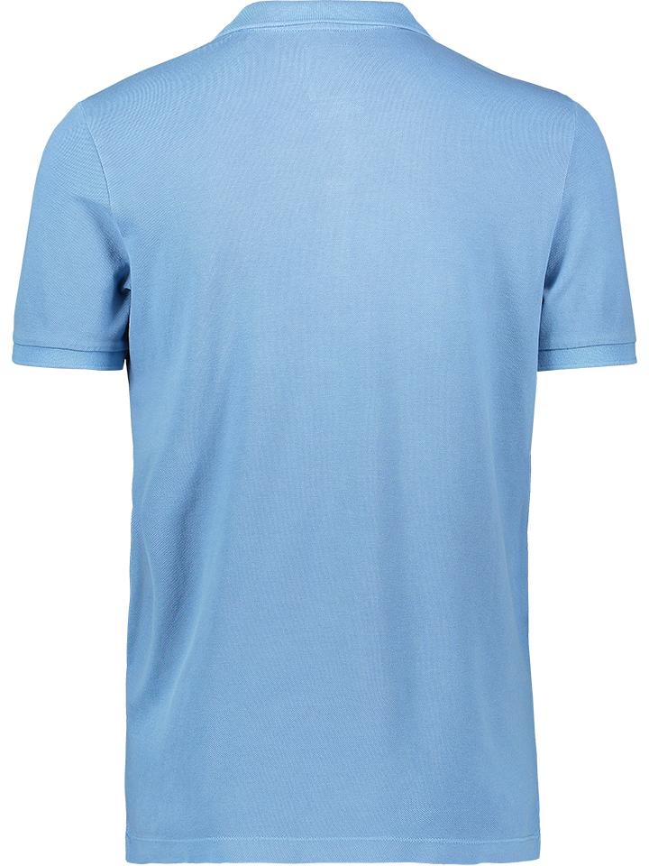 Marc O'Polo Poloshirt in Hellblau günstig kaufen