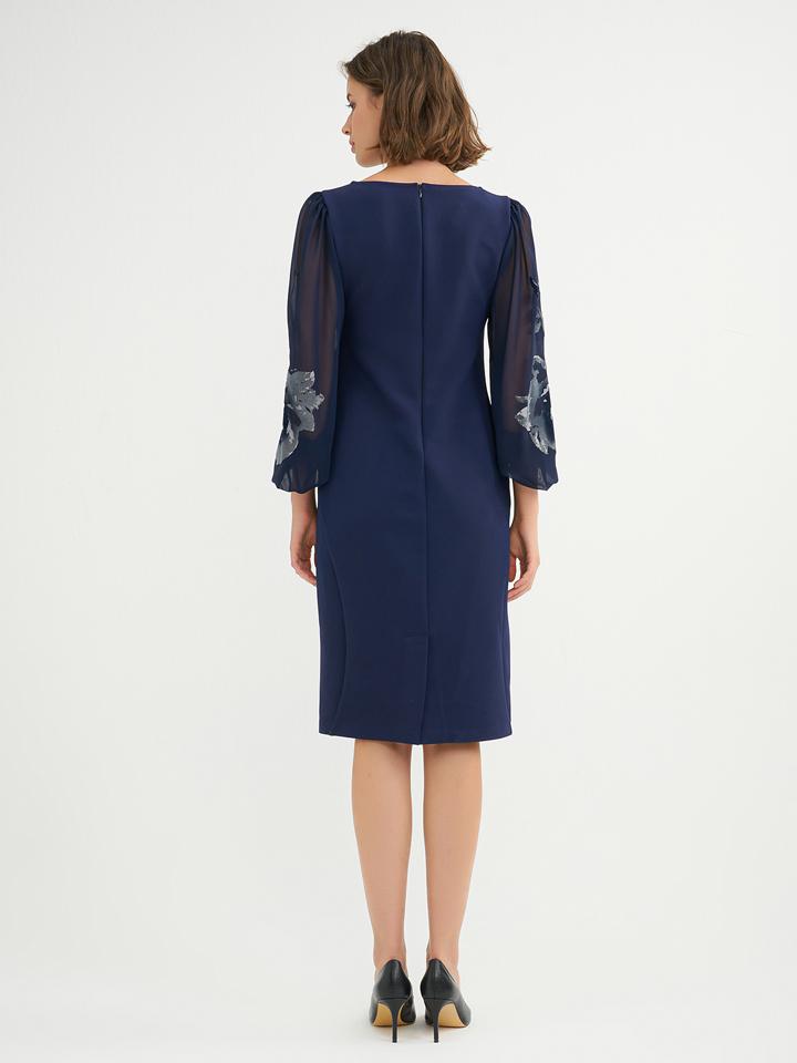 BGN Kleid in Dunkelblau günstig kaufen