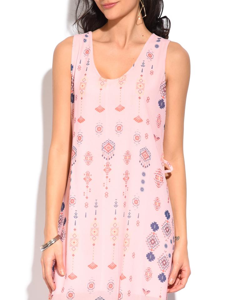 ASSUILI ASSUILI Kurze Kleider (Mini)  in rosa_bunt günstig kaufen