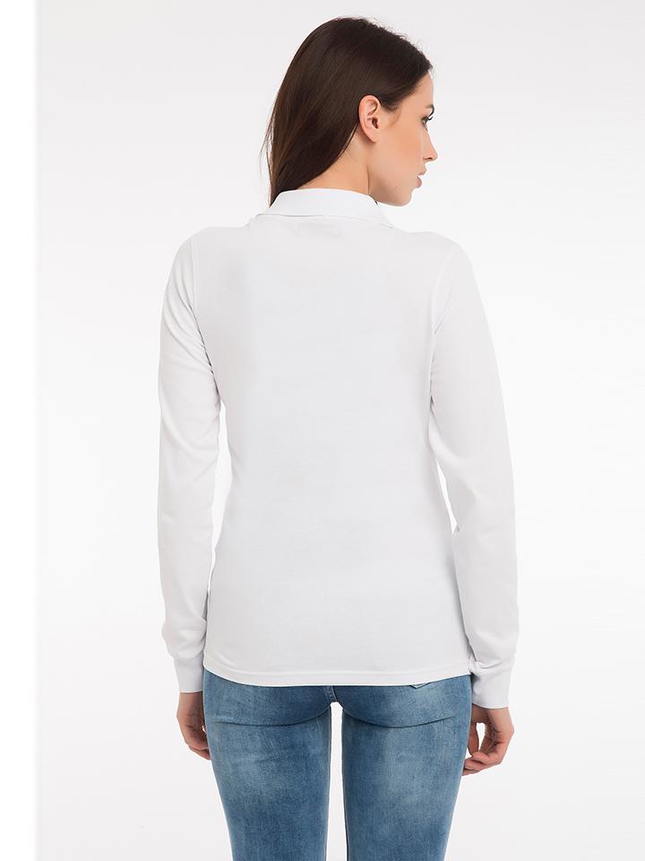 Paul Parker Poloshirt in Weiß günstig kaufen