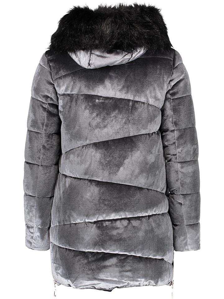 Wintermantel in Grau günstig kaufen