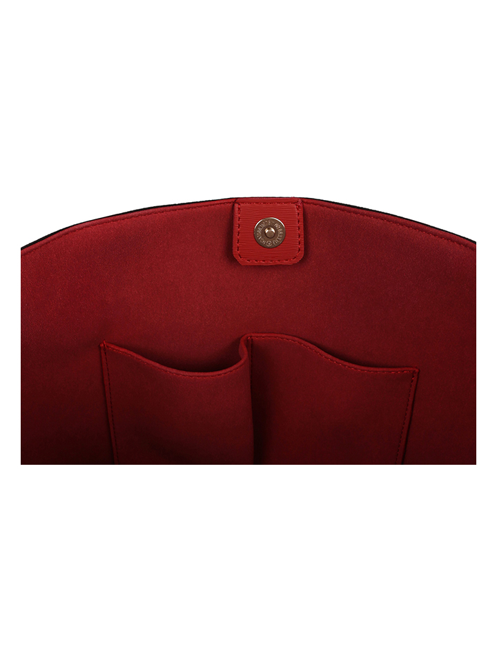 Beverly Hills Polo Club Shopper in Schwarz/ Rot - (L)44 x (B)14 x (H)28 cm günstig kaufen