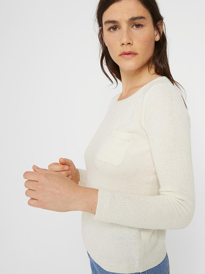 Rodier Pullover in Weiß günstig kaufen