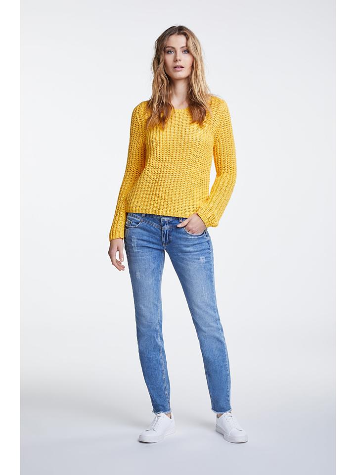 Oui Pullover in Gelb günstig kaufen