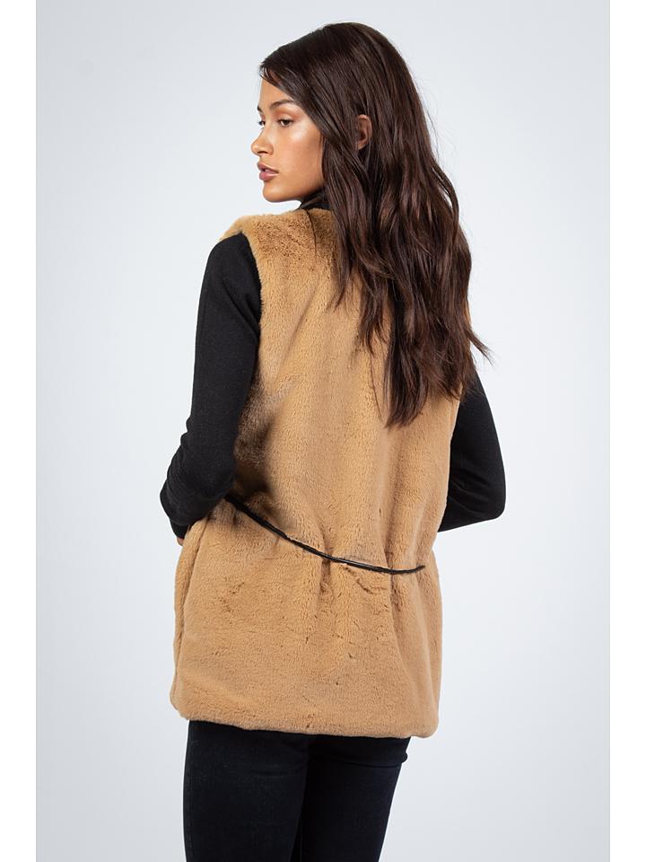 Snowie Collection Weste in Camel günstig kaufen