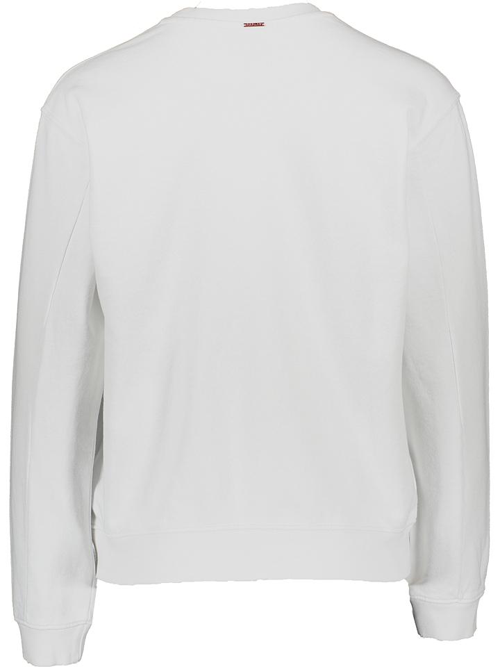 Replay Sweatshirt in Weiß günstig kaufen