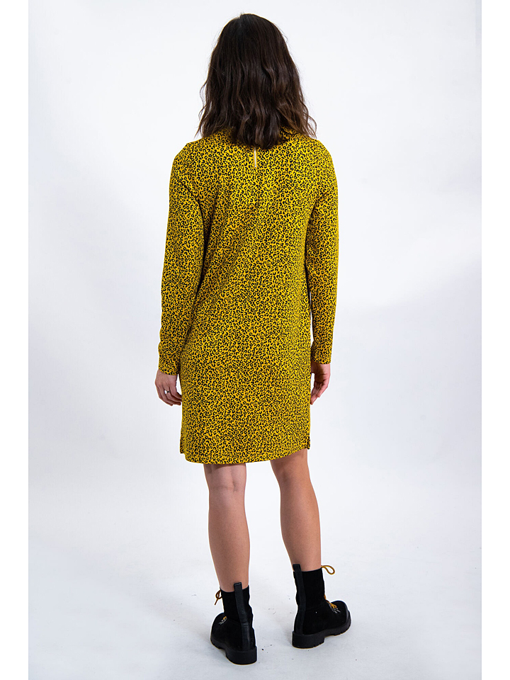Garcia Kleid in Gelb/ Schwarz günstig kaufen