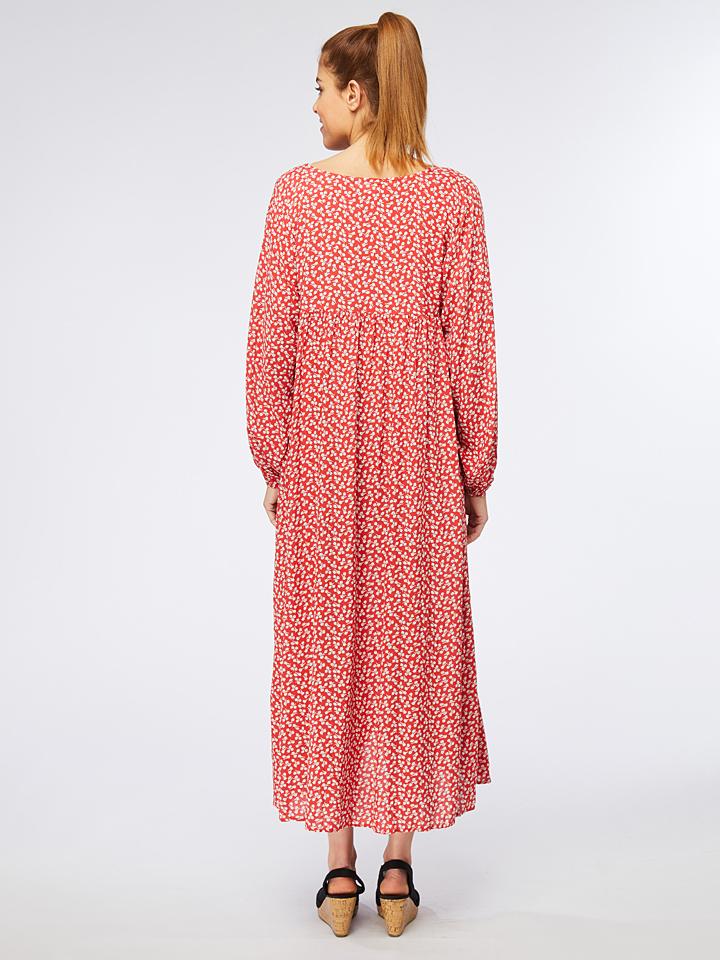 Ella Paris Kleid in Rot/ Weiß günstig kaufen