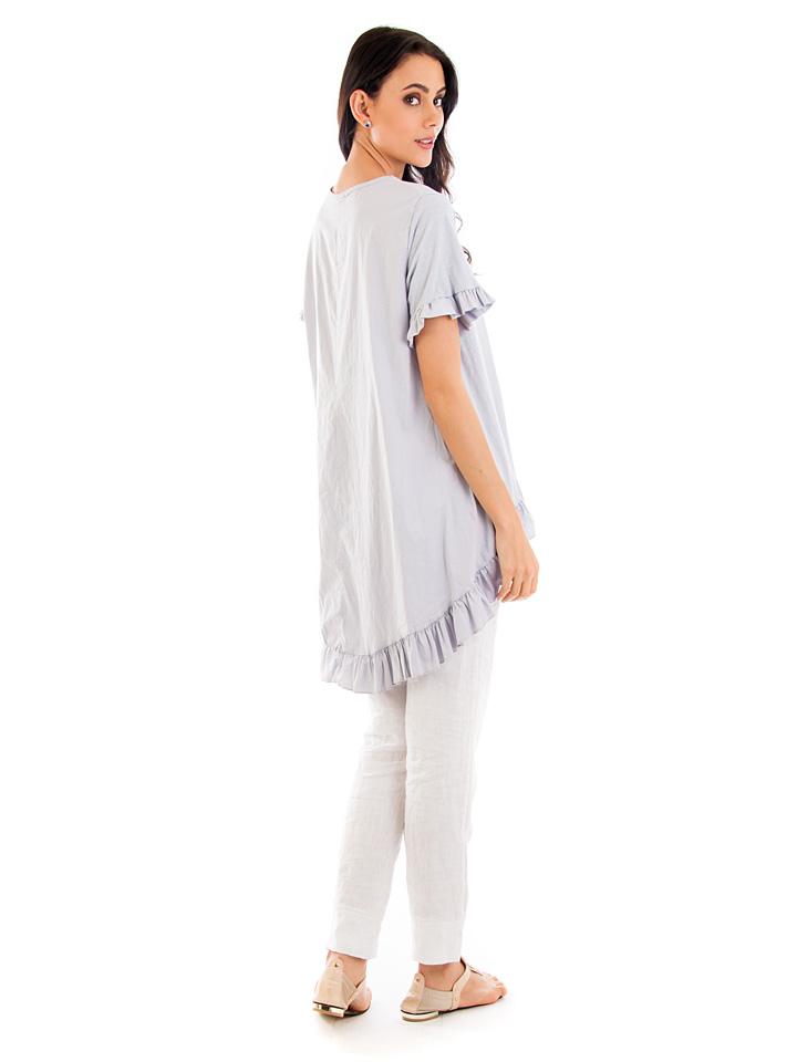 Fille de Coton Shirt in Anthrazit günstig kaufen