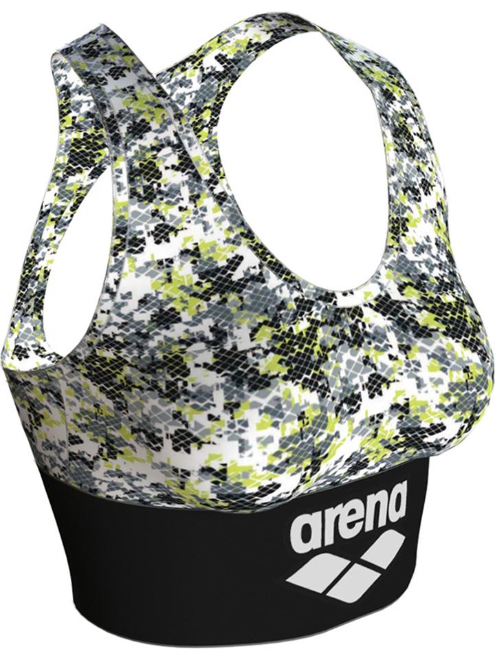 Arena Sport-BH in Weiß/ Grau günstig kaufen